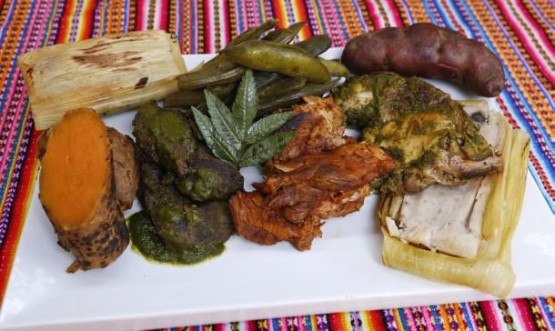 Variety of Pachamanca Food (ph. trome.pe)