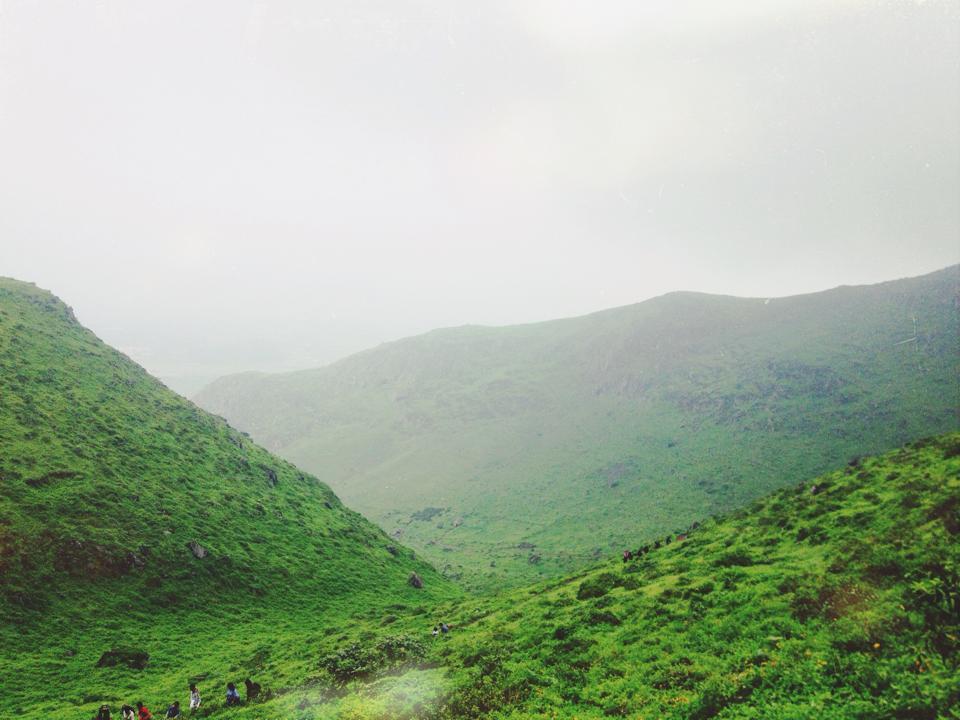 Lomas de Lucumo Hiking Trails in September.