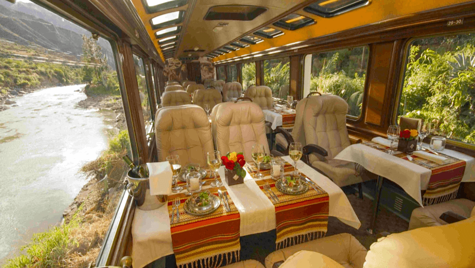 Inca Rail Train Peru