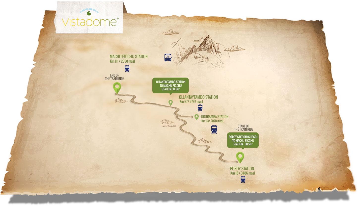 Peru Rail's Vistadome Train Route