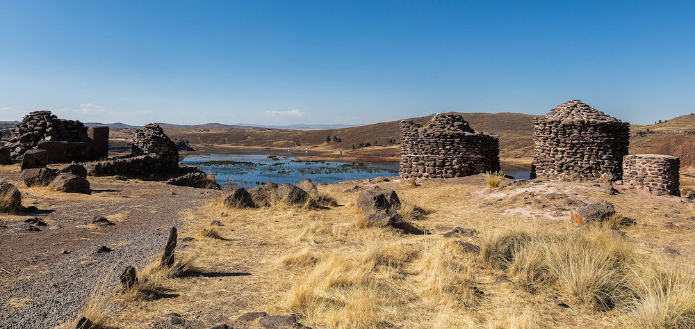 Chullpas in Sillustani Peru - Ph. Diego Delso