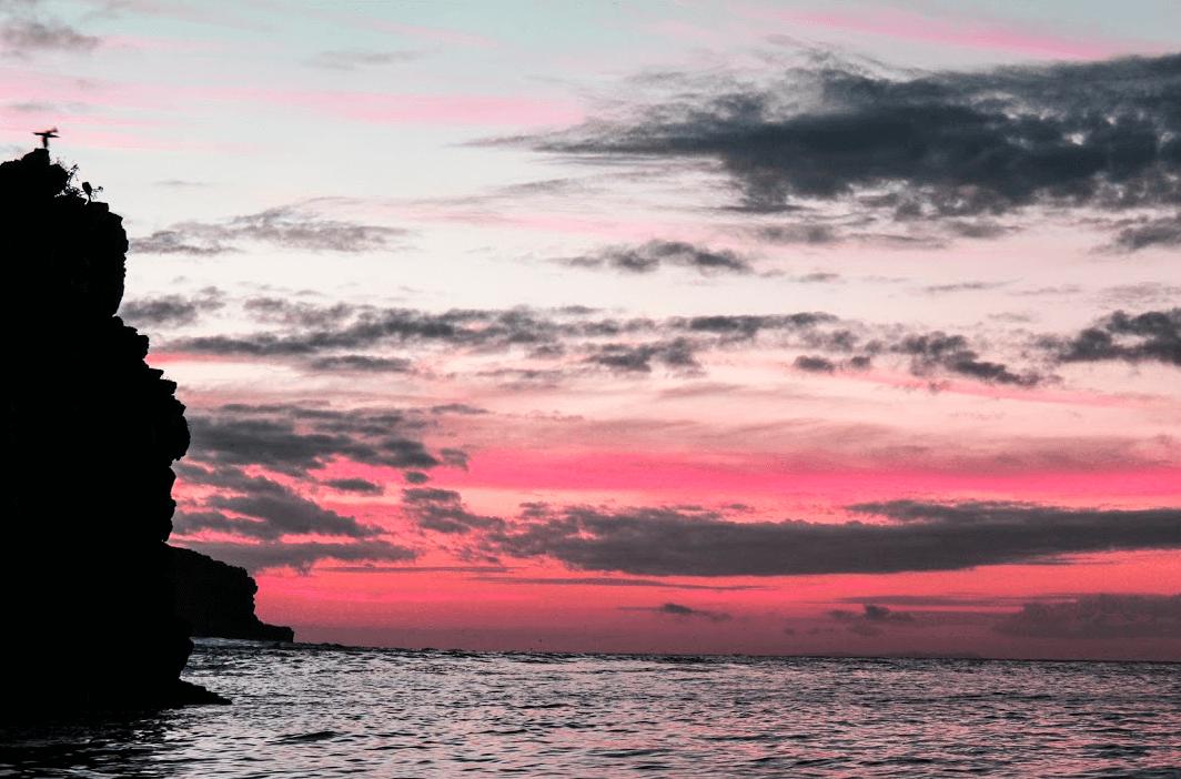 Sunset Galapagos Islands