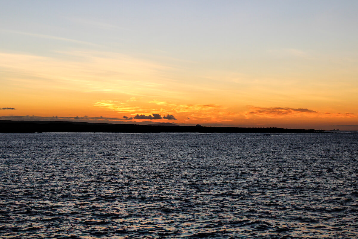 Galapagos Islands Sunset