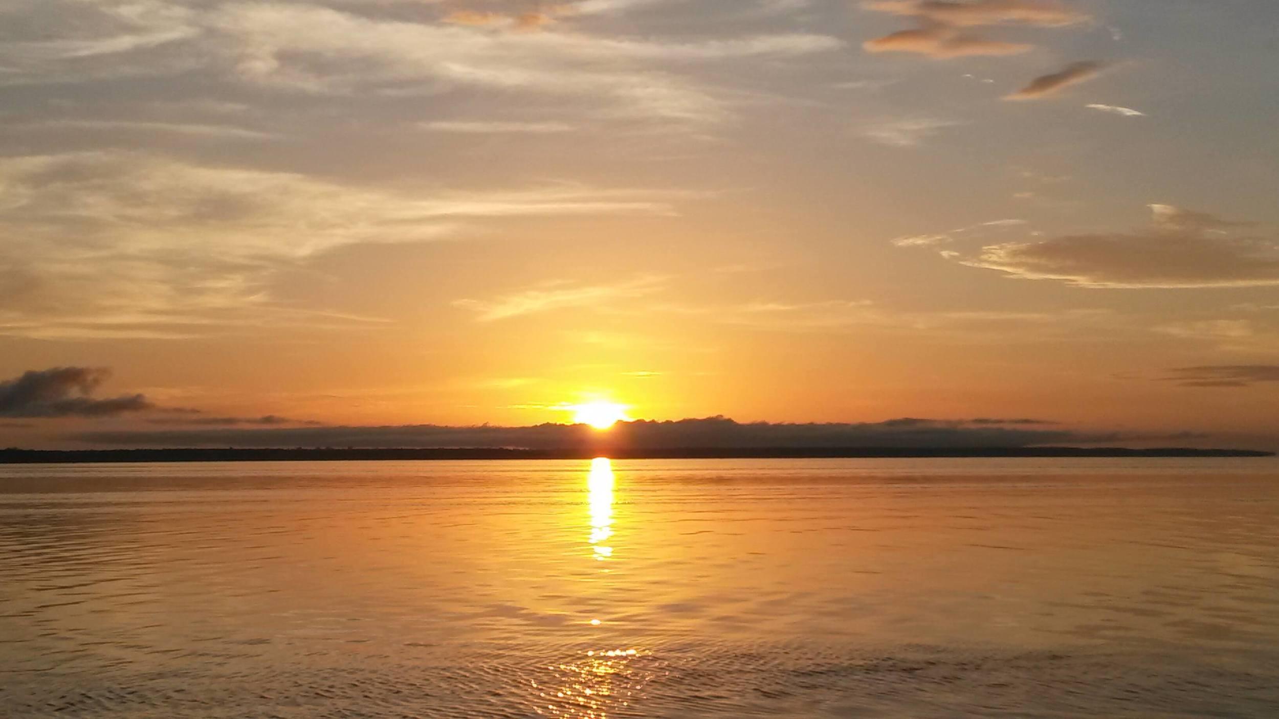 Sunset Amazon