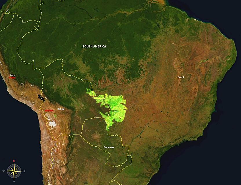 Pantanal Map (Ph. Wikipedia)