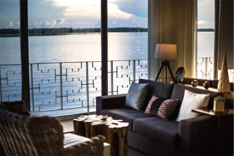 Delfin III Amazon Cruise Sunset