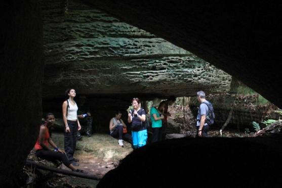 Amazon Rainforest Cave Exploring