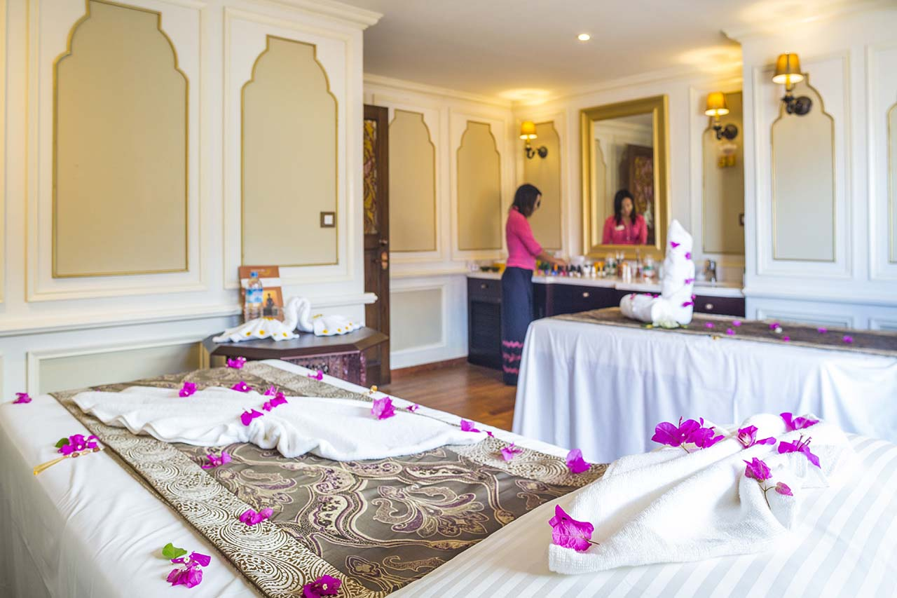 Irrawaddy Explorer Cruise Spa Room