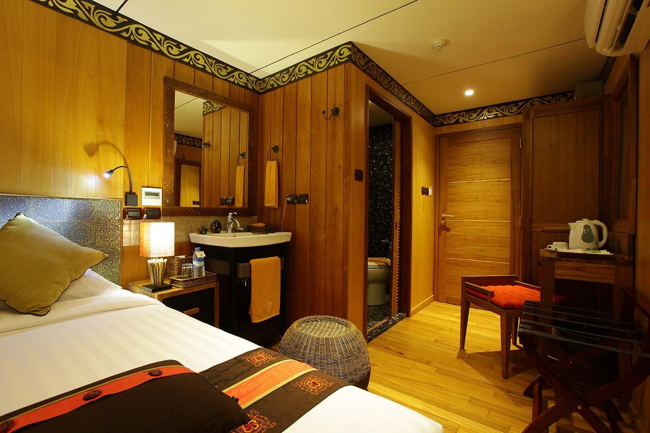 Paukan 2012 Myanmar Cruise Cabins