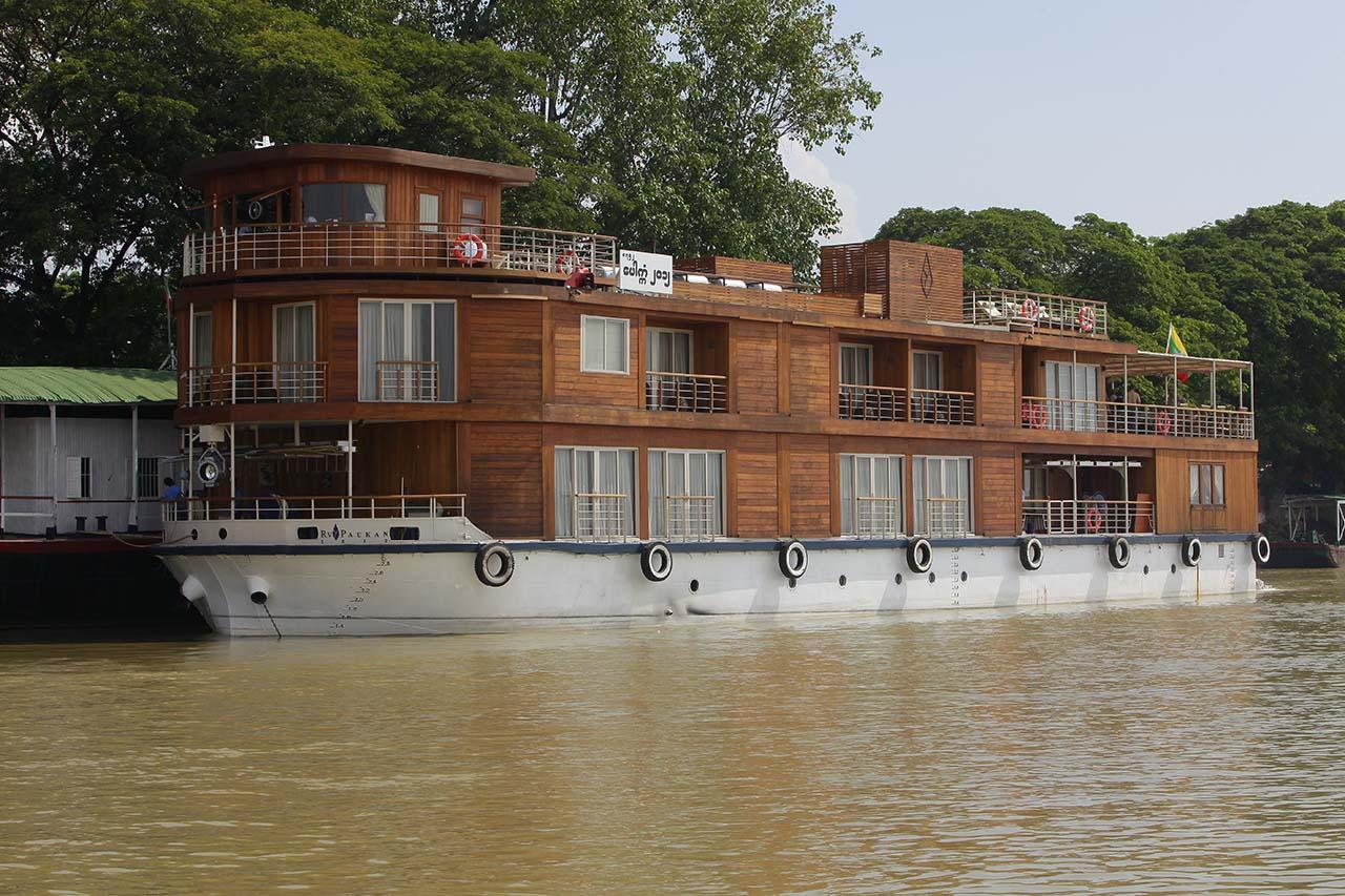 Paukan 2012 Myanmar Cruise Exterior