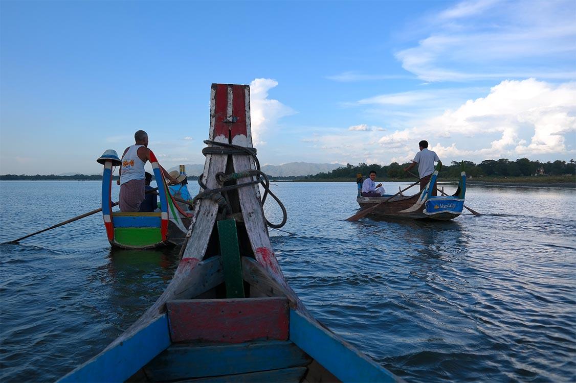 Local Boat Tour - Amarapura, Myanmar (Burma)