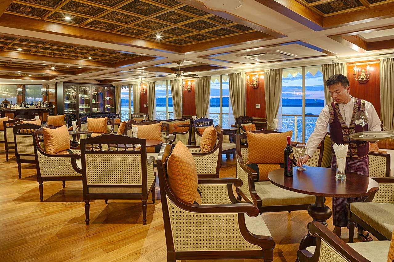 Indoor Lounge - Irrawaddy Explorer