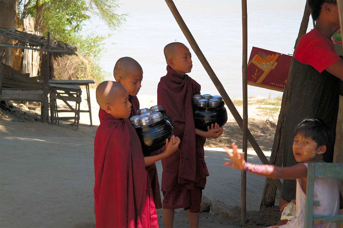 Young Monks - Salay, Myanmar (Burma)