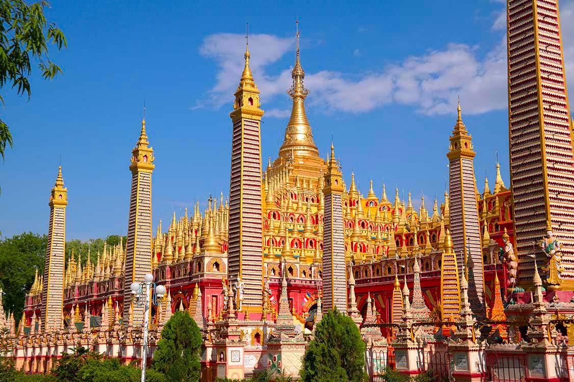 Sambodhi Kat Kyaw Temple -Monywa, Myanmar (Burma)