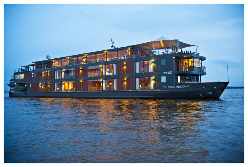 Aqua Mekong River Boat