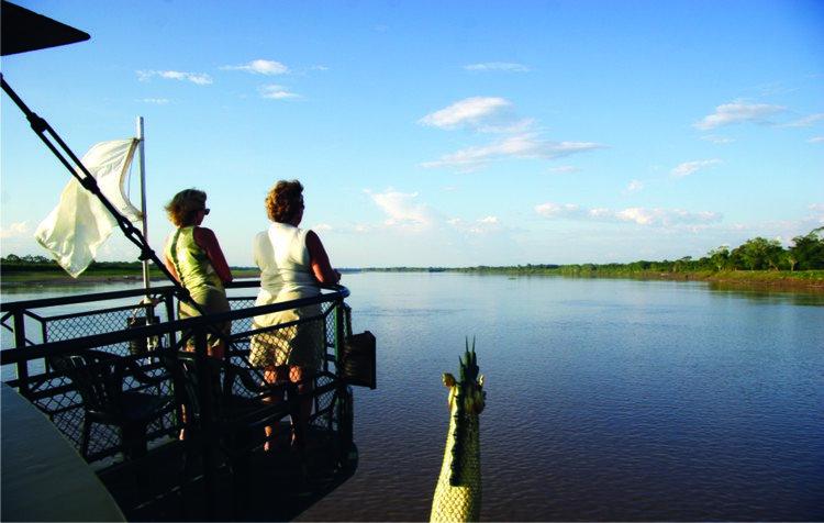 Amatista Amazon Cruise Deck