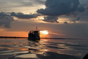 Amazon Clipper Cruise Sunset