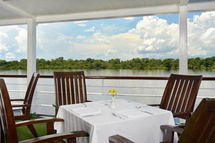 Dining Room Aboard Iberostar Cruise