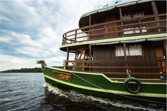 Jacare Tinga Amazon Riverboat