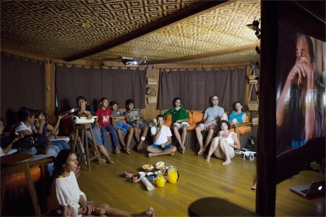 Jacare Acu Amazon Cruise Movie Night