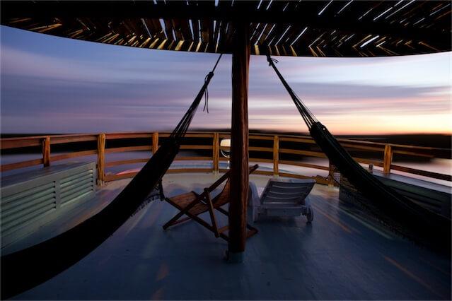 Jacare Acu Amazon Cruise Hammocks