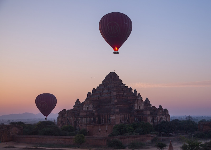 Hot Air Balloon Myanmar
