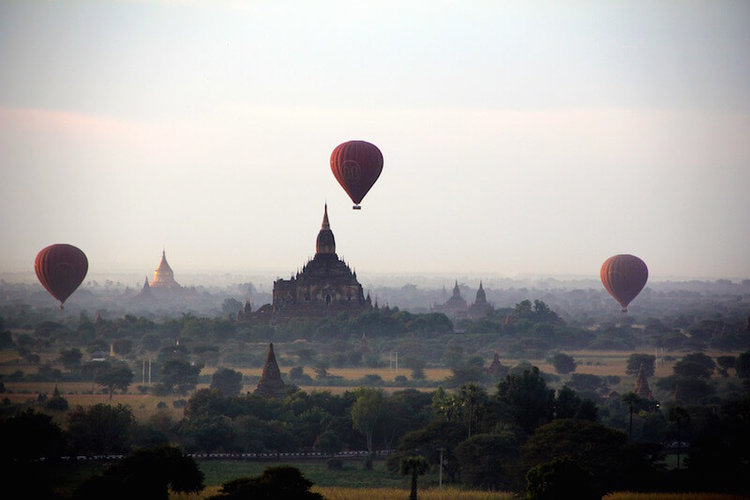 How to Get to Bagan Myanmar