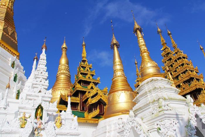 Shwedagon Pagoda Myanmar Burma