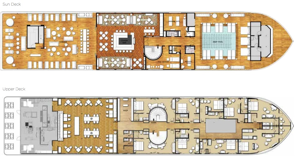 The Strand Deck Plan