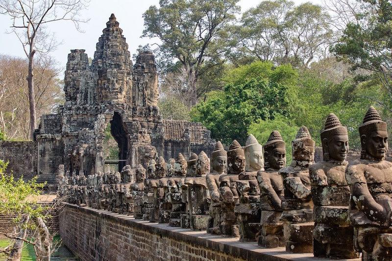 Angkor Wat Mekong Cambodia