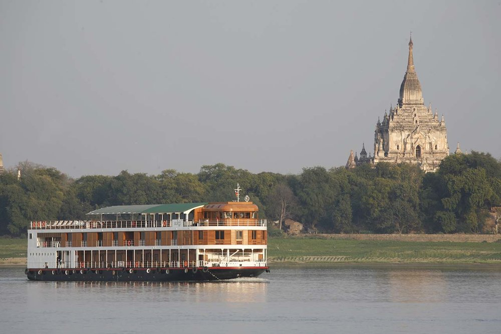Myanmar Irrawaddy Cruise