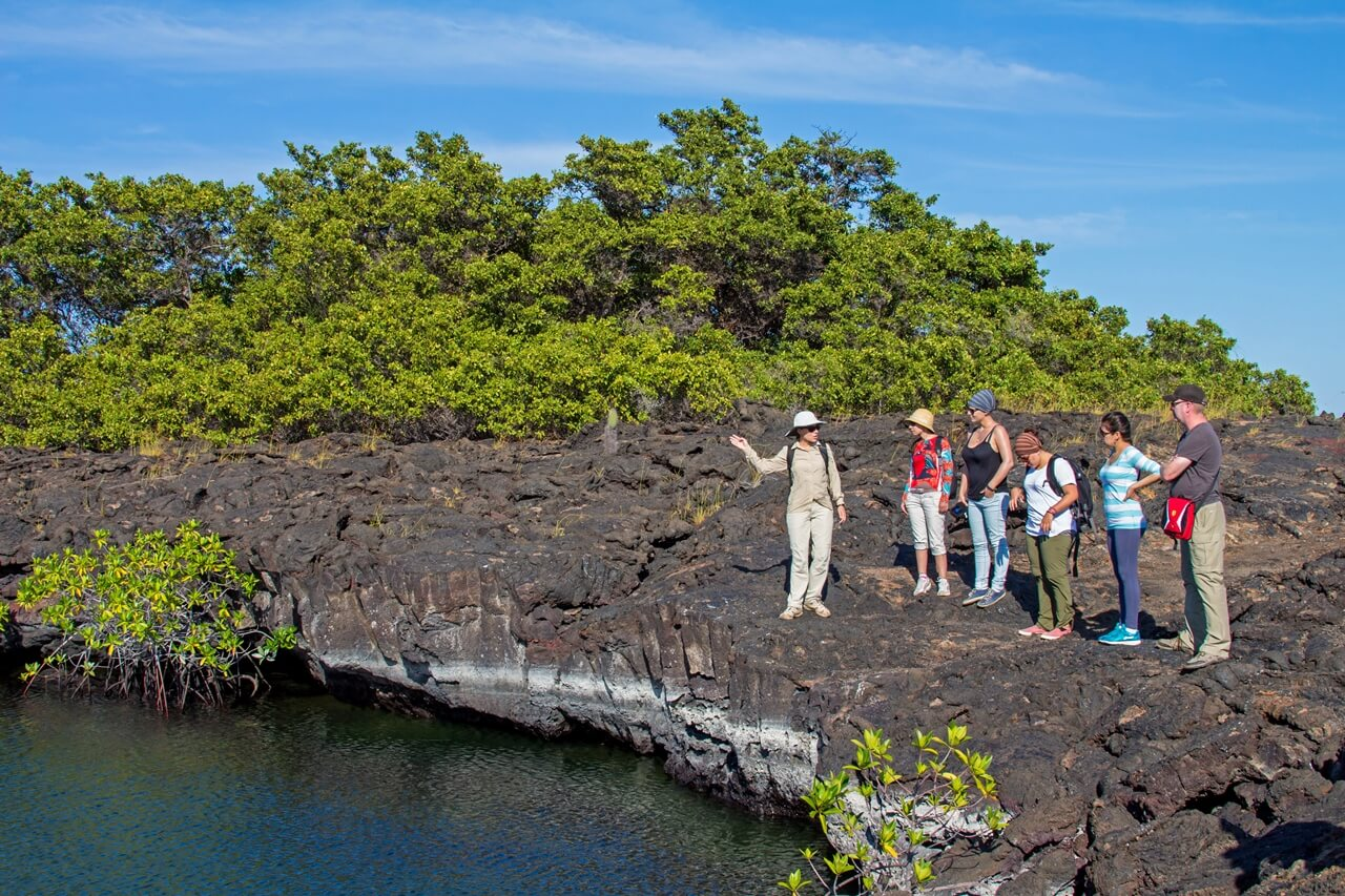 Touring Galapagos