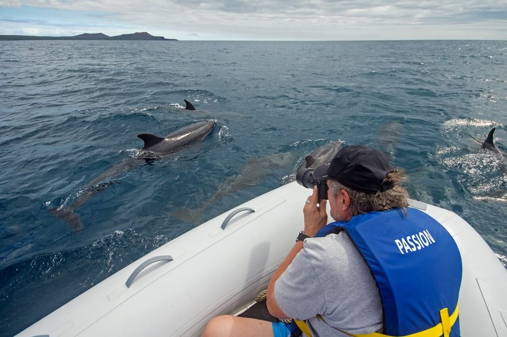 WildAid Program Aboard the Passion Galapagos Cruise