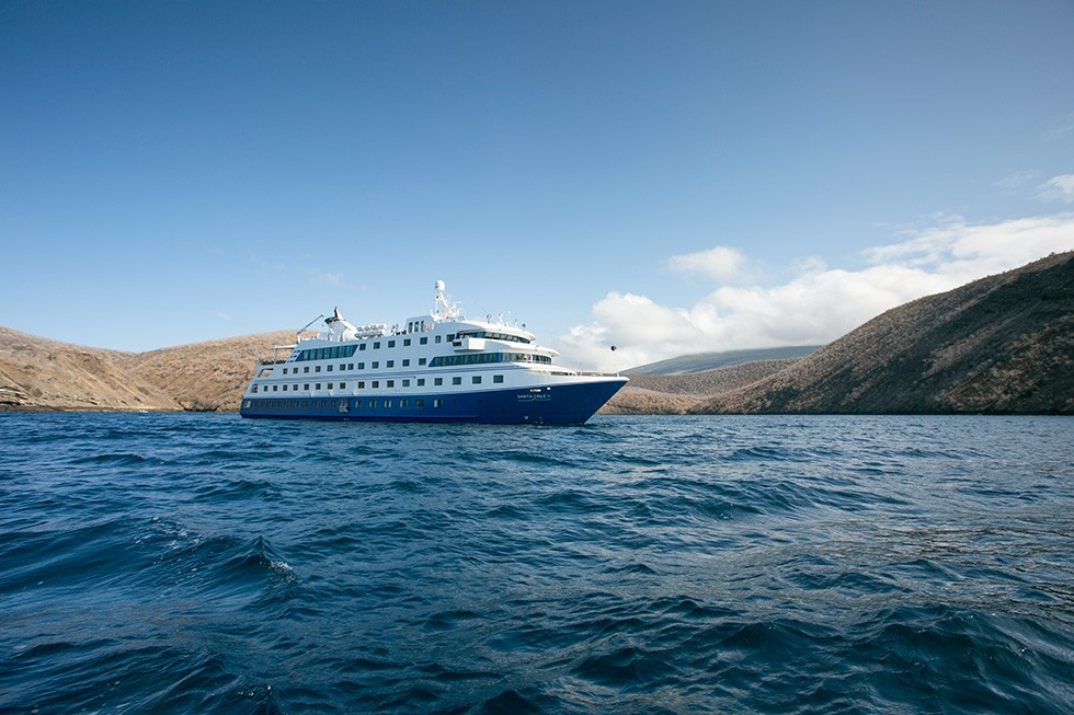 Santa Cruz Galapagos Ship