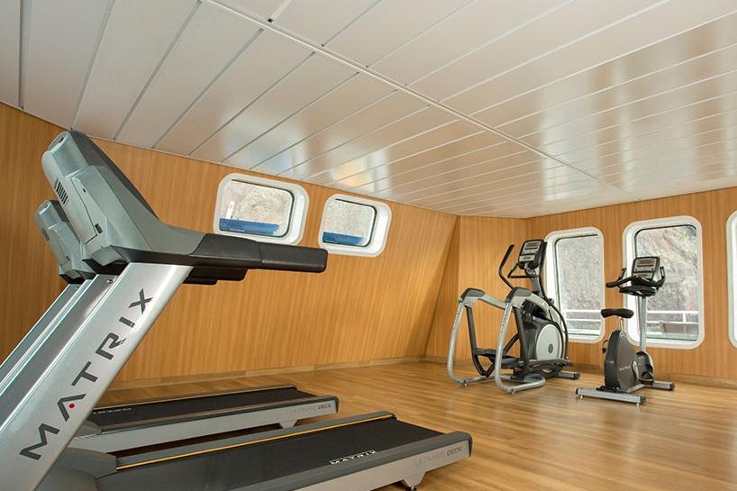 Galapagos Cruise Gym