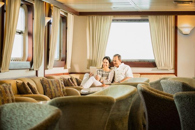 Luxury Galapagos Ship