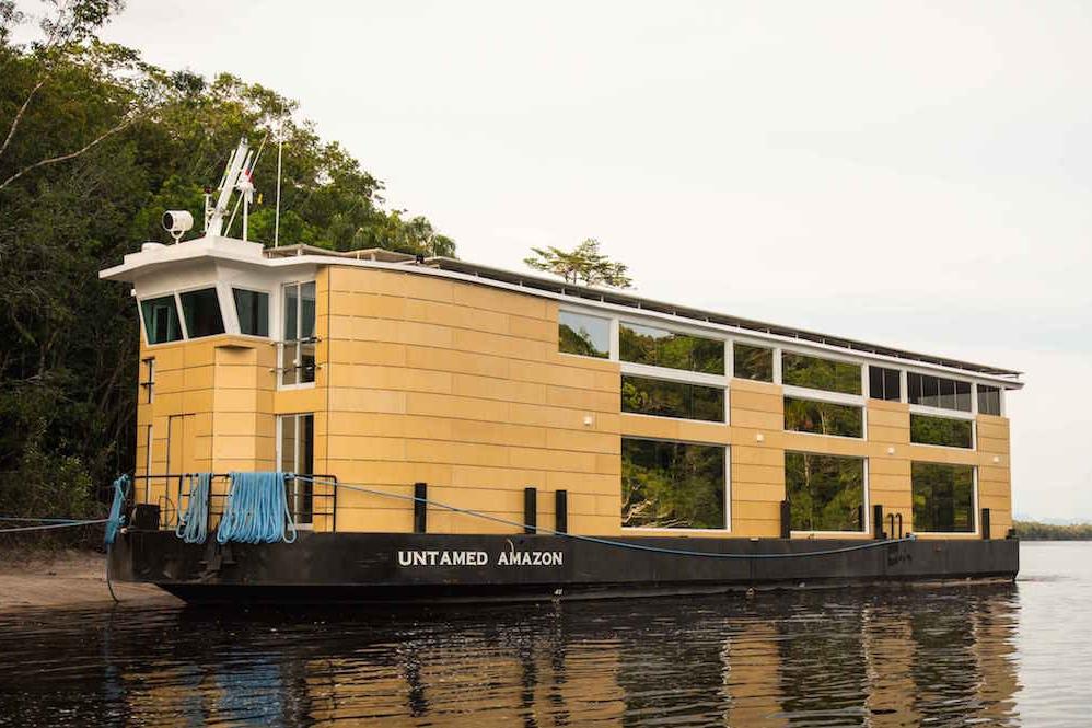 untamed amazon riverboat