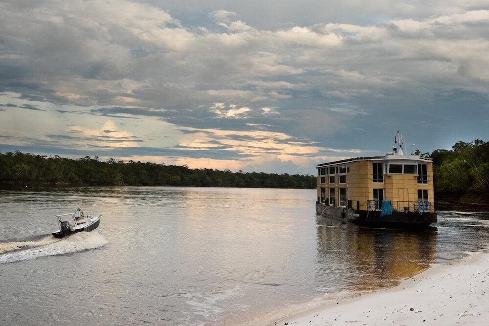amazon cruise itineraries