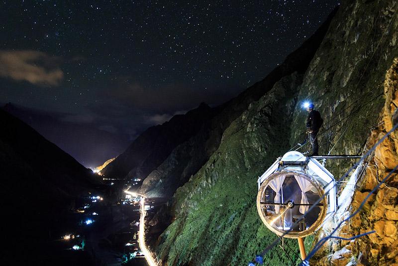 Cusco Peru Skylodge
