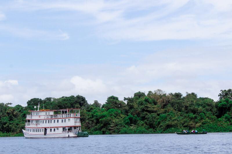 Cruising Amazon River