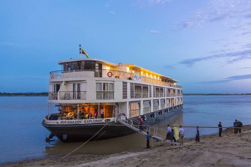 The beautifully luxurious Irrawaddy Explorer river vessel has some fantastic offers.