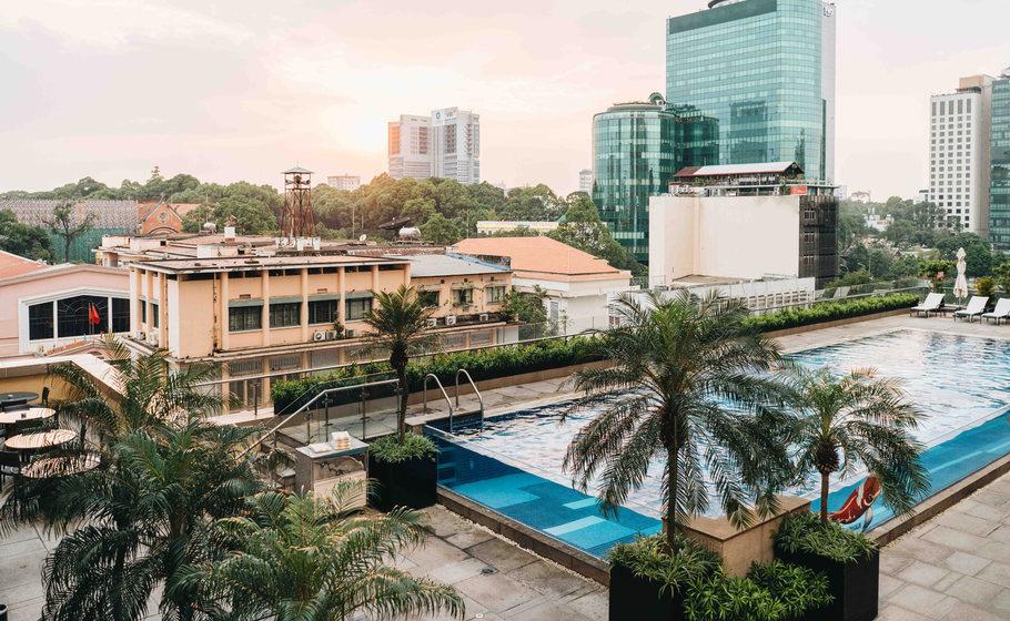 Photo from: Intercontinental Hotel Saigon
