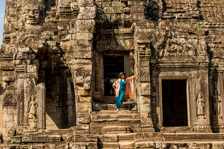 Best time to go to Angkor Wat