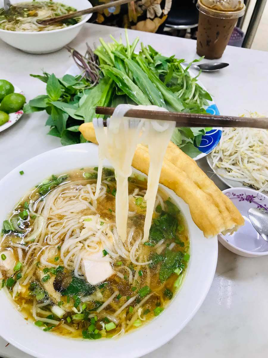 We couldn't get enough of Vietnamese Noodles in Saigon City