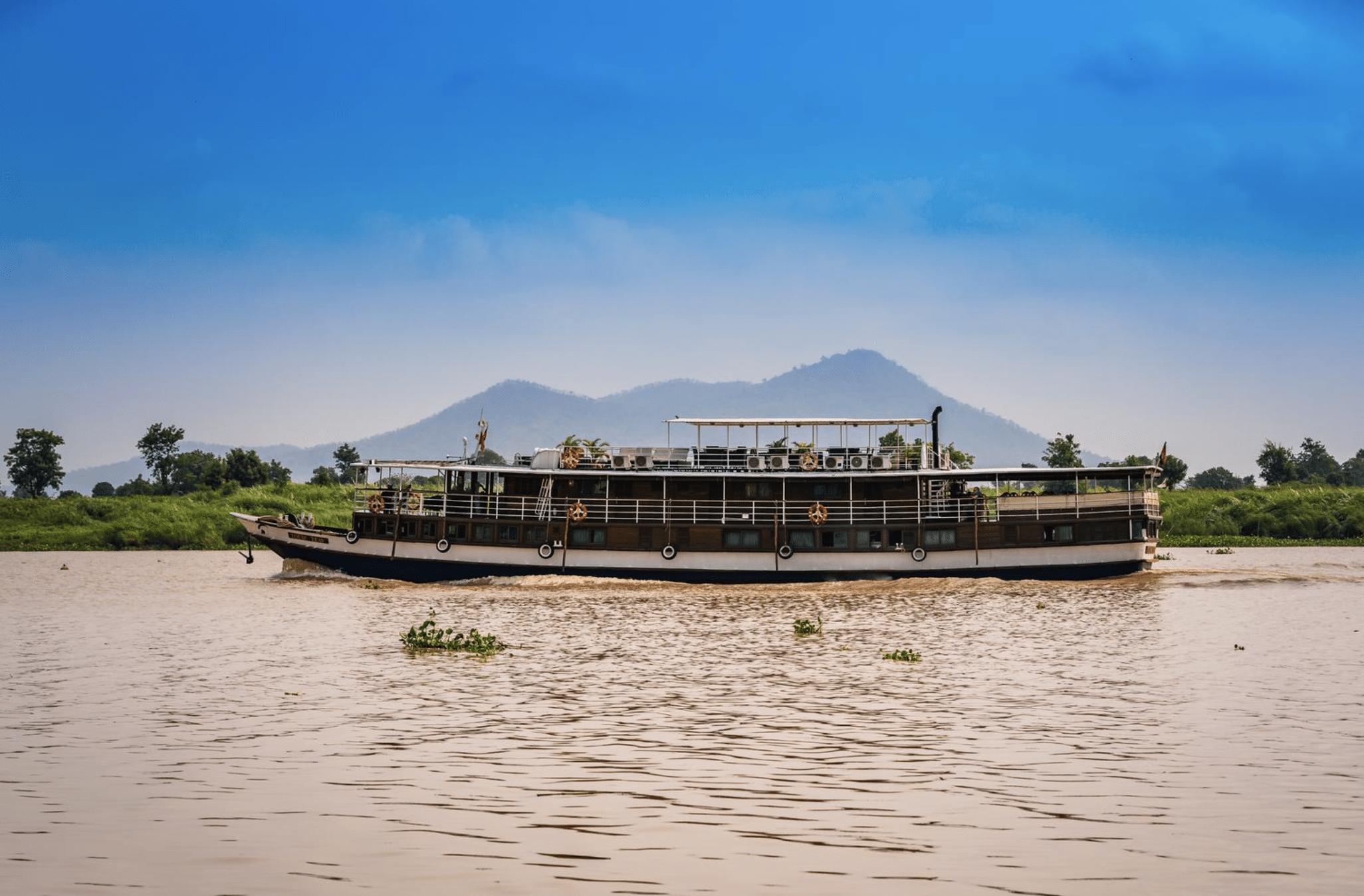 Mekong River Cruise Vessel