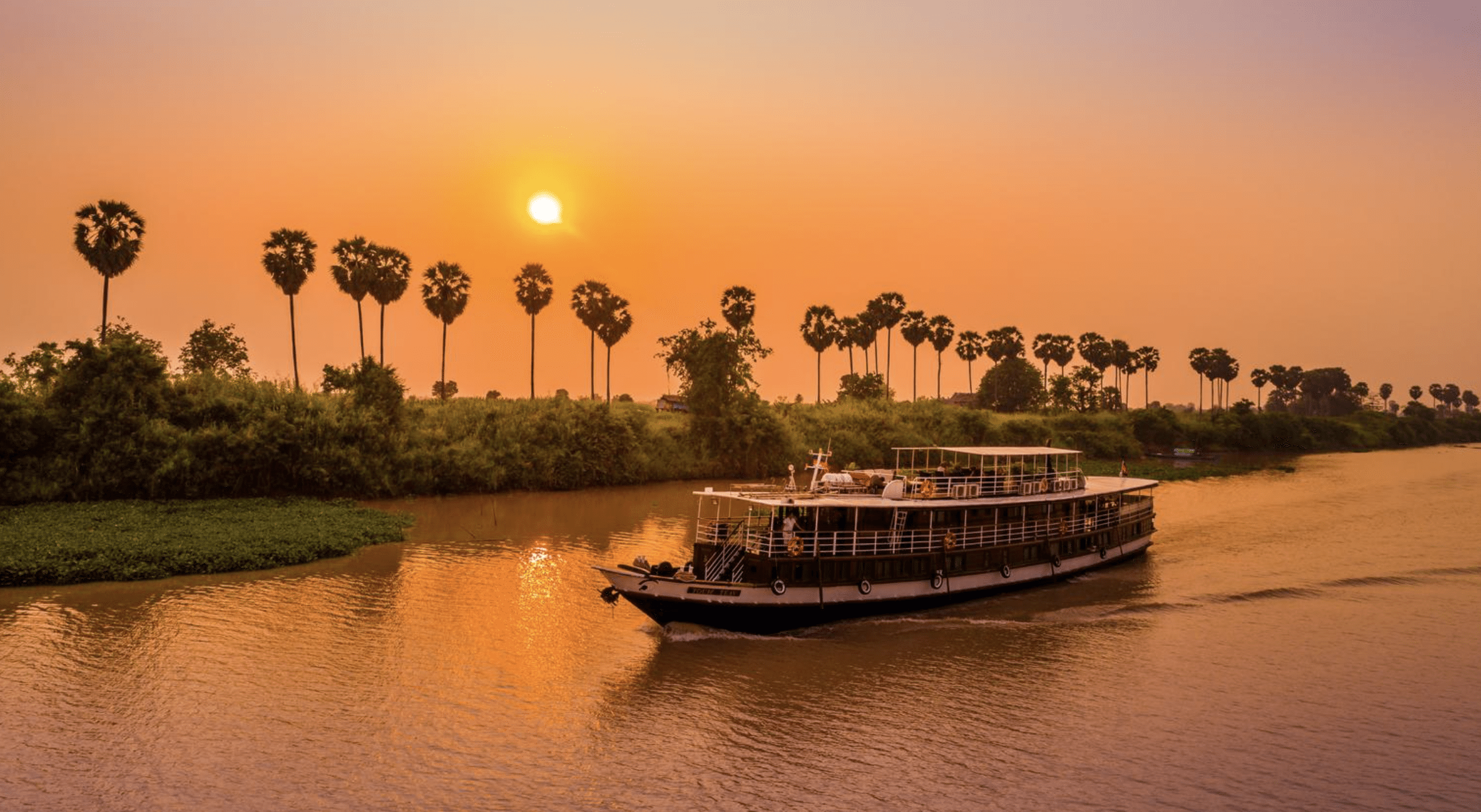 Mekong River Cruise Vessel