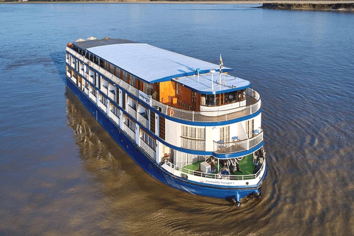 Irrawaddy Voyager Vessel