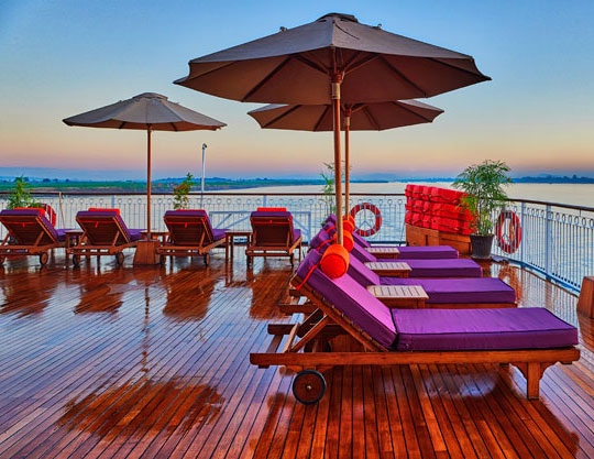 Irrawaddy Voyager Sundeck