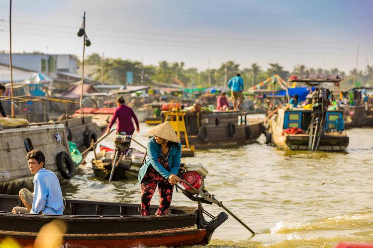 Lower Mekong Cruises