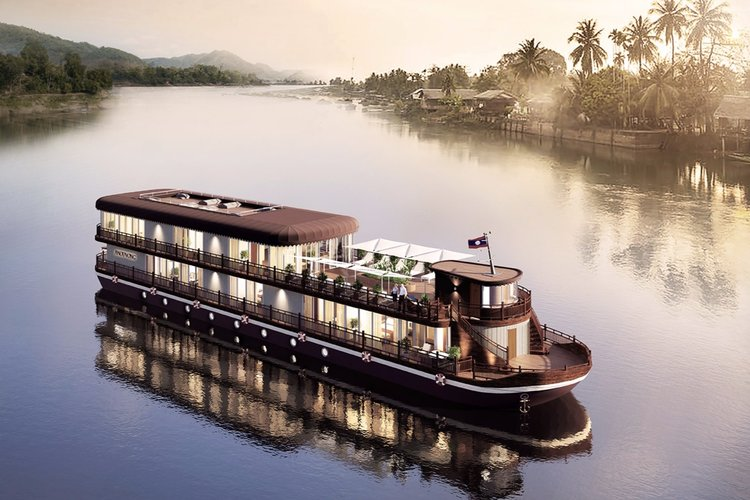 Anouvong Cruise in Laos